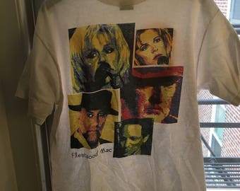 Vintage 90s Fleetwood Mac tour shirt