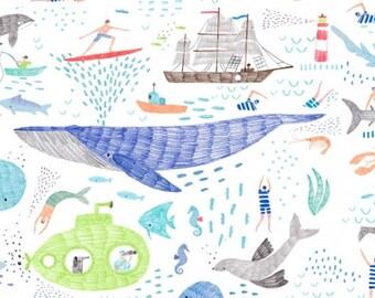 Pier Pressure - Life of Porpoise White - Dear Stella (Stella-940-White)