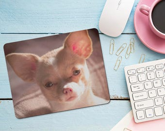 Your Photo Personalized Mouse Pad, Office Desk Accessories, Computer Mice Decoration, Dog Cat Baby Wedding, Office Supplies, Computer Desk