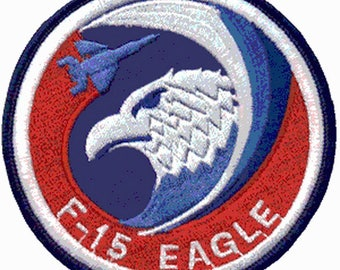 Army Aviation F15 Eagle U.S. army patch badge patch