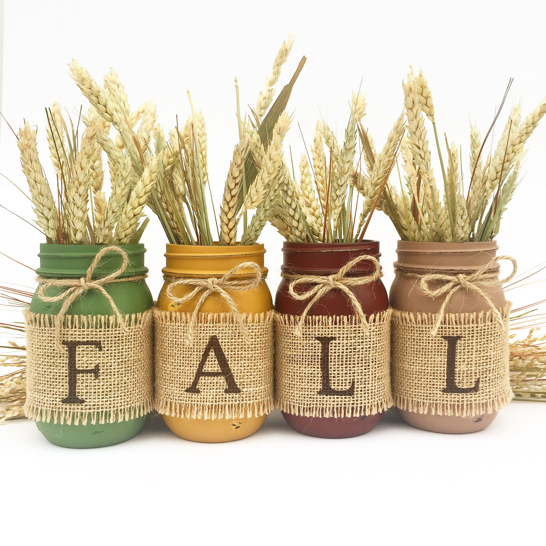 the original fall mason jars autumn home decor fall decor zoom