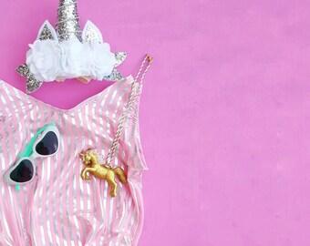 Unicorn Leotard -cotton candy - leotard -toddler - unicorns