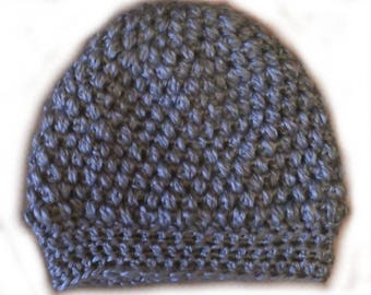 Silver grey slouchy Hat