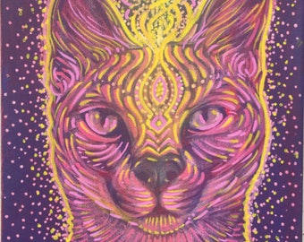 cat power - original painting