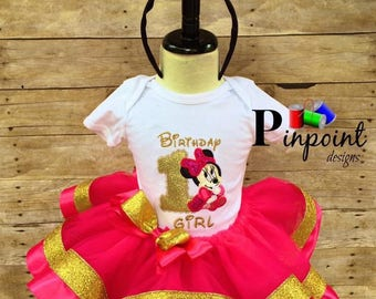 Amazing Minnie Mouse Outfit!     100% made from scratch!