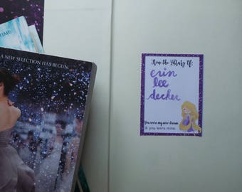 Princess Book Plates with Quotes - Printable