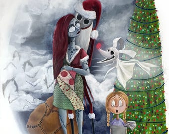 Nightmare Before Christmas Jack & Sally