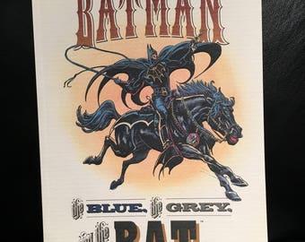 Batman The Blue The Grey The Bat Comic Book 1992 DC Comics