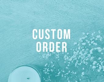 Custom for Vanshika