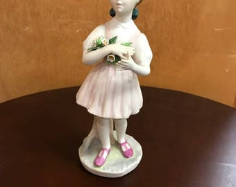 Cybis Porcelain Heidi Figurine
