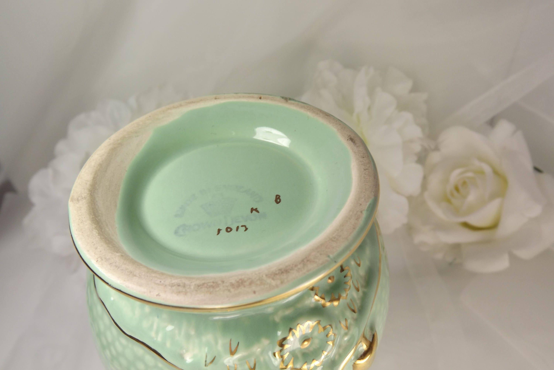 Crown devon art nouveau mint green terracotta interior vase crown devon art nouveau mint green terracotta interior vase rare 1920s reviewsmspy