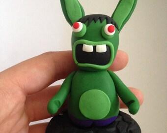 Jerk Hulk Avengers polymer rabbit figurine