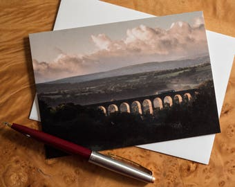 Welsh landscape greetings card