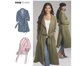 Simplicity Sewing Pattern 8554 Misses' and Miss Petite Coats and Jackets