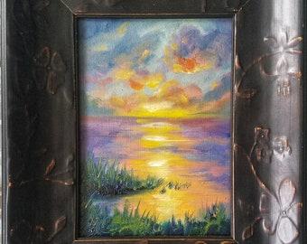 Little Landscape oil study #14