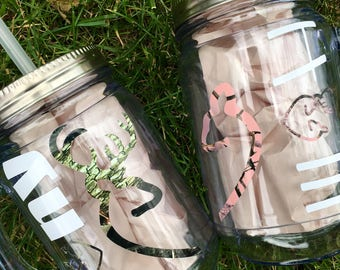 Engagement Mason Jar set