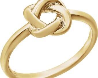 14K Knot Ring