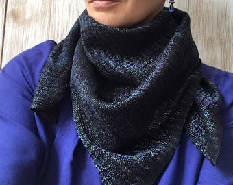 Handwoven Shawl - Tencel Scarf -Silky Wrap - Gift For Her - Birthday Gift - Eucalyptus Scarf - Woman Scarf - Head Scarf - Stole