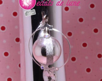 Pregnancy's Bola real Princess with Pearl and Swarovski Crystal