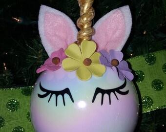 Large Unicorn Ornament
