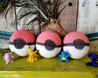 6 Pokemon bath bombs
