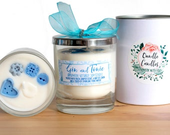 Gin and Tonic - Luxury Glass Jar Candle