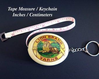 Tape Measure Keychain Lion Brand Yarns Craft Supplies