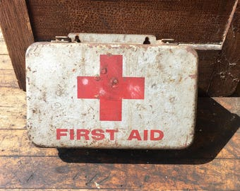 Vintage Forest Ranger First Aid Kit
