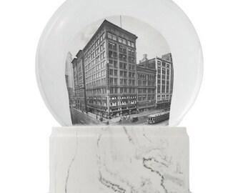 1917 - Woodward Detroit on a Snowy Day