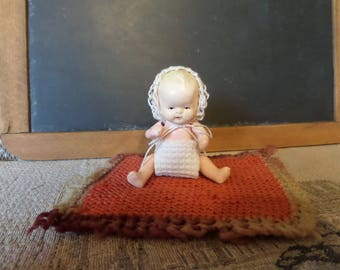 """Tiny Baby Doll Made in Japan 3 1/2"""""""
