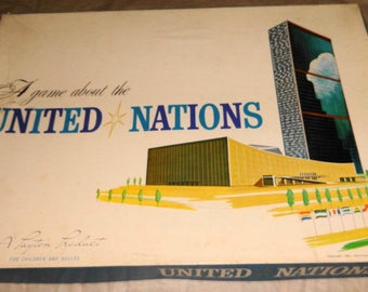 1961 United Nations Game. Rare!