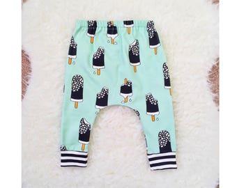 Baby Leggings, Toddler Leggings, Organic Baby Leggings, Organic Baby Harems, Baby Leggings Boy, Baby Harem Pants, Baby Harems