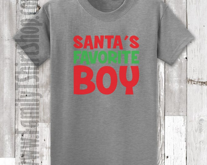 Santa's Favorite Boy T-shirt