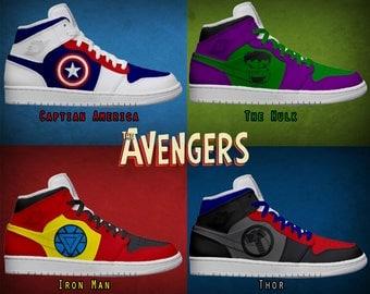 Women's Light Up Avengers Shoes