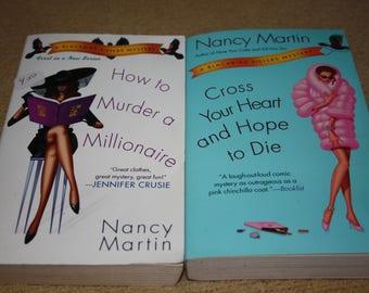 2 Nancy Martin books / Free shipping