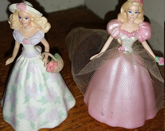Vintage Barbie Doll Hallmark Ornaments, 1995 and 1996