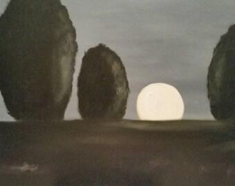 Slumber - Oil Painting - Large