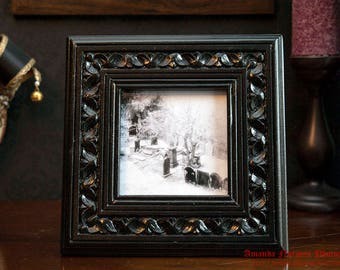 Liverpool Cemetery Framed Print ANF011