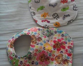 Babys bibs and taggie ideal for anyones new adfition to the family.