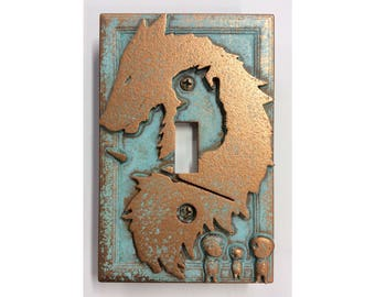 Princess Mononoke -  Light Switch Cover