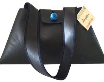 Recycled Rubber Handbag Maca