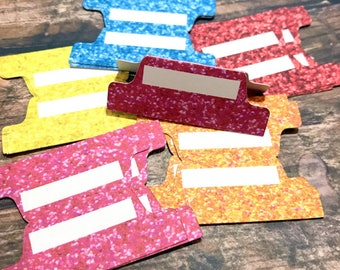 Planner Tabs - Set of 15. Summer Brights