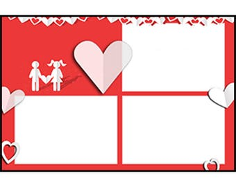 Photo Strip Template for Photo Booths | 4066