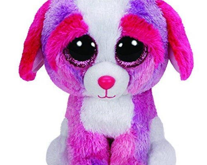 Ty Beanie Boos Sherbet - Multicolor Dog 36124
