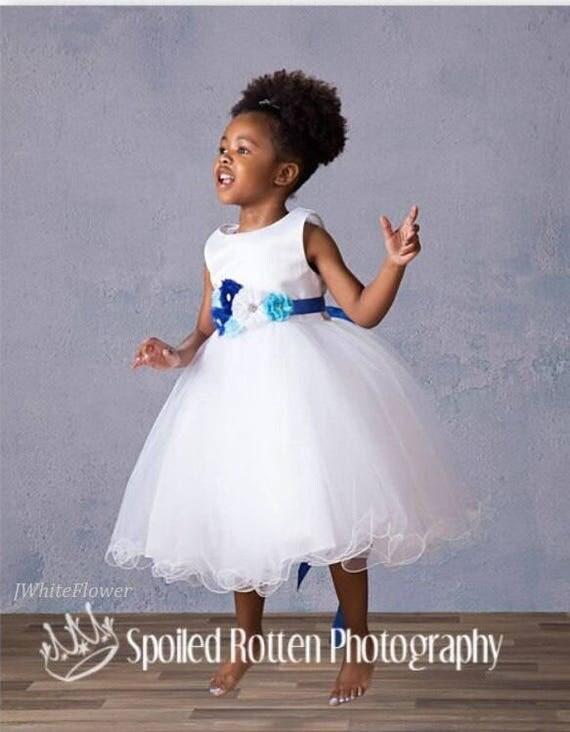 Maternity sash belt, Blue navy and white Sash , sash,  flower Belt, maternity sash, baby shower gift