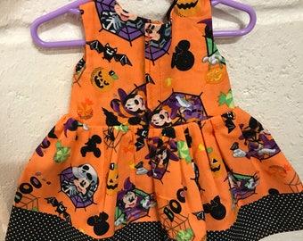 Halloween dress fits an American Girl Doll