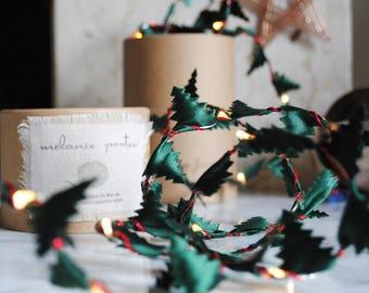 Christmas tree, fairy lights, modern decorations, LED lights, winter wedding decoration, Christmas wedding, table centrepiece