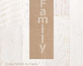 Cross Stitch to Calm: Family Cross Stitch Chart Download (804243)