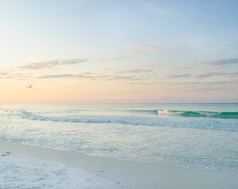 Beach Photography - Digital Download - Ocean Print - Beach Decor - Ocean Print - Coastal Photography - Coastal Farmhouse Decor - Stock Photo