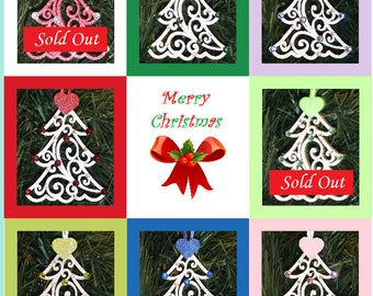 Birthstone Ornaments - Jeweled Christmas Ornaments